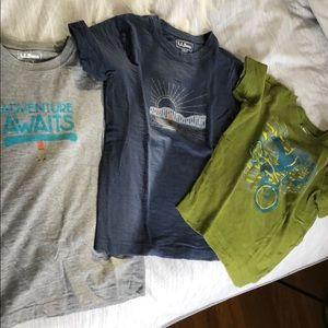 LLBean boys t-shirts 6x/7